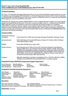 cool high impact database administrator resume to get noticed easily check more at http