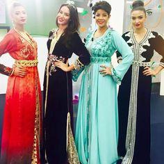 Caftans de la styliste Ferdaous de Meknès sur Sabahiyat 2m