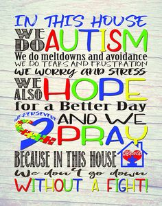 In this house we do Autism We do Autism Print We do AutismTap the link to check out great fidgets and sensory toys. Check back often for sales and new items. Happy Hands make Happy People!!