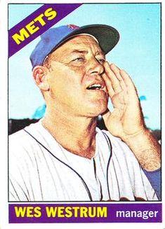 341 - Wes Westrum MG - New York Mets