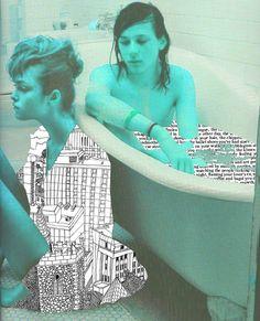 Random thought - Photomontage - Jan 2011, Talia Janover