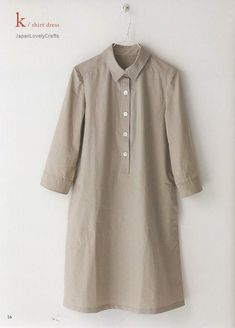 Image result for sewing pattern art smock long-sleeved women's