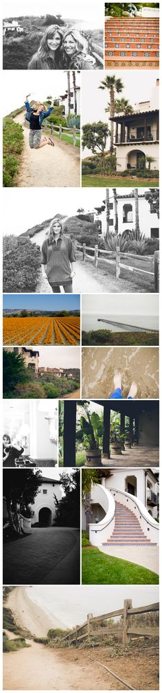 SantaBarbaraCollage2 - finding pease through my lens