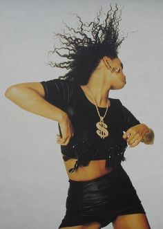 Neneh Cherry. Born on 10.03.64 in Stockholm. Moved to New York in the early 70s and then London at age 14.