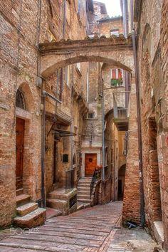 My Italy - Perugia © Ettore Mongelli Perugia Italy, Urban Planning, Places Ive Been, Europe, Adventure, Street, Architecture, City, Miniature