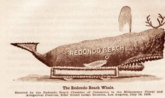 Old Redondo Beach float. Hagins collection.