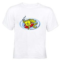 Help Fish White T-Shirt 17.79$ If you are water and need help? who are you going to call?  @Natalie Kay @Fels @Pat Huffman @ReelReports @FLWFishin @SaveTheFish @HelpFish  #Fish #fishing #SaveTheFish #HelpFish #crazyFish #fishy #fabspark #drowningFish