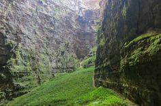 Sótano de Huahuas, México, 200 metros de profundidad, San Luis Potosí