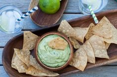Enjoy a healthy, tasty dip that's perfect for serving to friends!