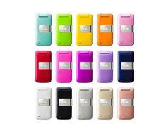Pantone flip phones