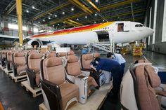 Retrofit de uno de nuestros Airbus A340