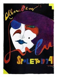 Spoleto 1974 Poster Print by Richard Lindner (34 x 45): Amazon.co.uk: Kitchen & Home