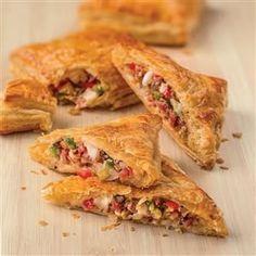 Antipasto Stuffed Pastries Recipe -Recipe courtesy of Galbani Cheese