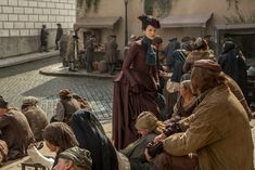 """Official 203 """"Useful Occupations and Deceptions"""", Claire Fraser (Caitriona Balfe)"""