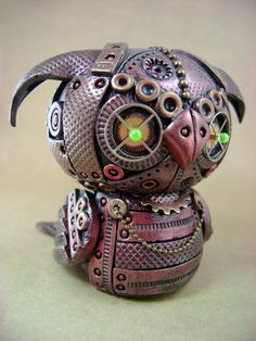 So cute steampunk polymer clay. Sylus - Front by monsterkookies on DeviantArt