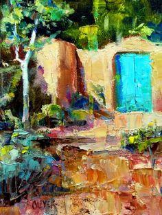Mi primer, pintura original Magdalena del artista Julie Ford Oliver   DailyPainters.com