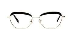 Fine and delicate, this unique frame, bordered with a delicate metal contour and ornate with its acetate brow detail, will be one to enhance and emphasize your authenticity. Make this gorgeous Darling your own for a fresh matchless look that screams you!
