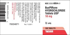 What is Buspirone (dosage, warnings, side effects and interactions)