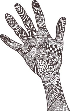 Zentangle made by Mariska den Boer 02