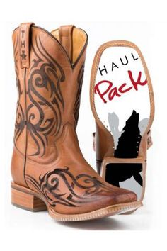 Tribal Tattoo Tin Haul Cowboy Boots Urban