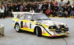 Audi Sport Quattro S1 - Monte Carlo 1986 - Mikkola / Hertz