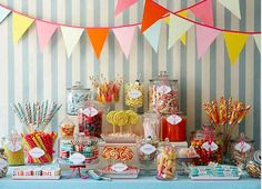 Display a 'Sweet' Candy Buffet