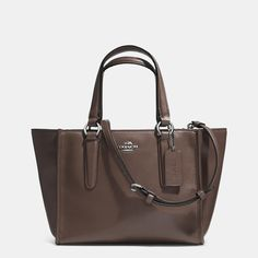 COACH Designer Handbags | Crosby Mini Carryall In Smooth Leather