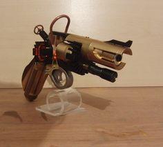 Laser Revolver Steampunkstyle