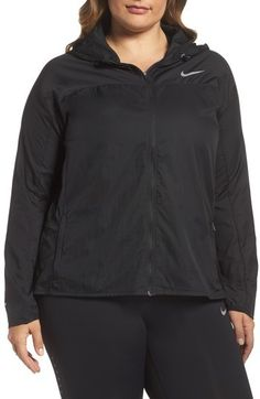 19a517a7f33 Plus Size Women s Nike Impossibly Light Hooded Jacket