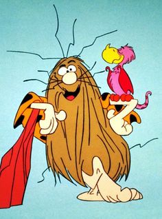 Captain Caveman - one of Giles Deacon's favourite cartoon characters Vintage Cartoons, Classic Cartoons, Vintage Toys, Old School Cartoons, Cool Cartoons, 1990s Cartoons, My Childhood Memories, Best Memories, 90s Childhood