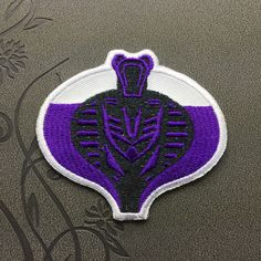 G.I. Joe : Rise of Cobra patch Embroidered Iron On Patches sew on patches Punk patch