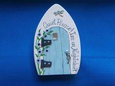 flower fairy door, Woodland magic, kids room decor, handmade wall decor, magical…