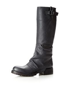 Tentazione Women's Must Wrinkled Tall Boot (Atracite)