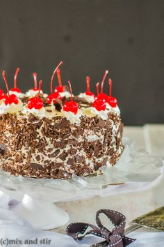 Mix and Stir: Black Forest Cake