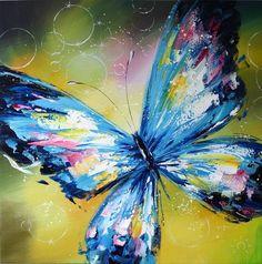 Butterfly Artwork, Butterfly Watercolor, Butterfly Painting, Butterfly Pictures, Watercolor Paintings, Sharpie Art, Spring Painting, Acrylic Art, Bird Art