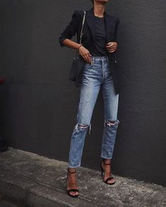 How To Get And Buy Gorgeous Stylish Clothes – Clothing Looks Mode Outfits, Jean Outfits, Casual Outfits, Fashion Outfits, Fashion Trends, Fashion Styles, Casual Clothes, Fashion Lookbook, Sweater Outfits