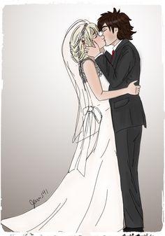 Hiccstrid wedding! :D