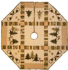 Free Step by Step Directions to Sew a Christmas Tree Skirt with a