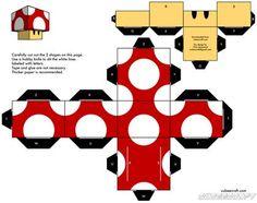 Hola gente de T! ^^. Vengo a mostrarles algo copado y no tan conocido, se llaman cubeecrafts. Se trata de armar muñecos de personajes/objetos determinados con formas cuadradas, utilizando solamente un cúter y un papel impreso con el muñeco...