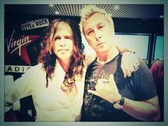 Steven Tyler and Dj Ringo.