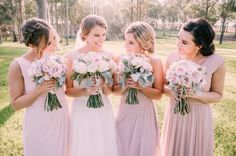 Bridesmaid Bouquet, Bridesmaids, Bridesmaid Dresses, Wedding Dresses, Flower Bouquets, Flowers, Big Day, Peonies, Wedding Planner
