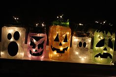 DIY Halloween Lanterns    the boys and I need a project!  Love these!