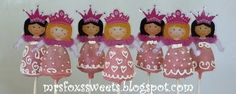 Princess Brownie Pops