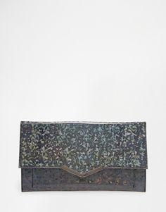 Image 1 ofASOS Slim Bar Clutch Bag