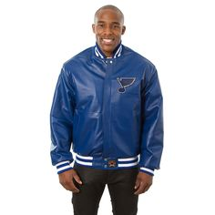 NHL St. Louis Blues JH Design Jacket - Royal