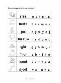 Worksheets language - winter ~ Miss Milou Afrikaans Language, Learn Dutch, Preschool Worksheets, School Hacks, Galaxy Wallpaper, Pre School, Kids Learning, Website, Paw Patrol