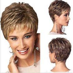 cheveux courts femme 60 ans