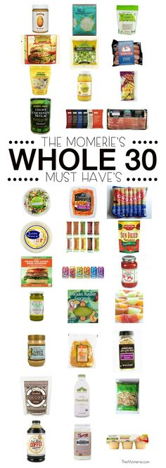 Ultimate List ofWhole30 Must Haves | The Momerie