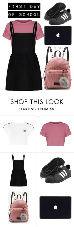 """""""Untitled #112"""" by kell-a ❤ liked on Polyvore featuring adidas, BasicGrey, adidas Originals and Disney"""