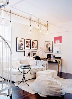 Exceptionnel Hippanonymous: Indoor String Lighting Home Living Room, Living Area, Living  Room Designs,